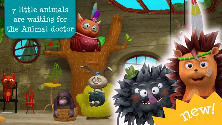 Little Fox Animal Doctor - be a vet screenshot-3