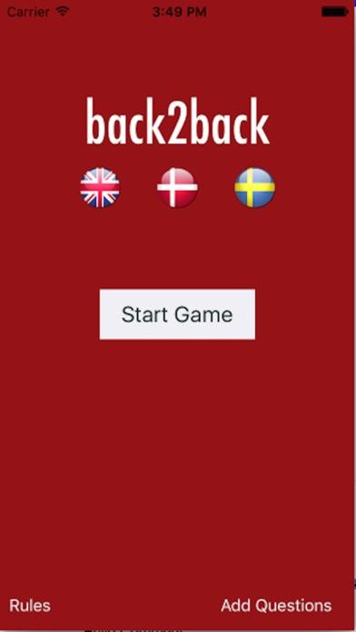Screenshot for Back2Back in Denmark App Store