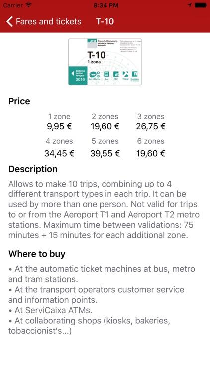 Next bus Barcelona screenshot-4