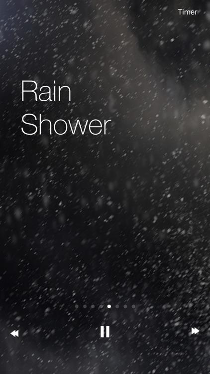 Raining Sounds - The Best Relax Nature Meditation Raining screenshot-3