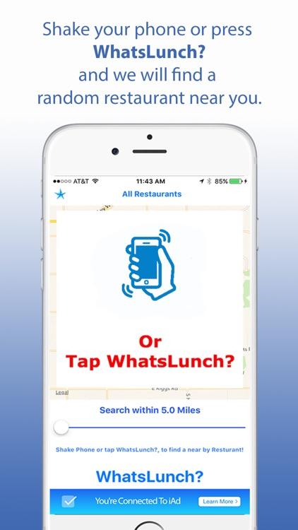 WhatsLunch