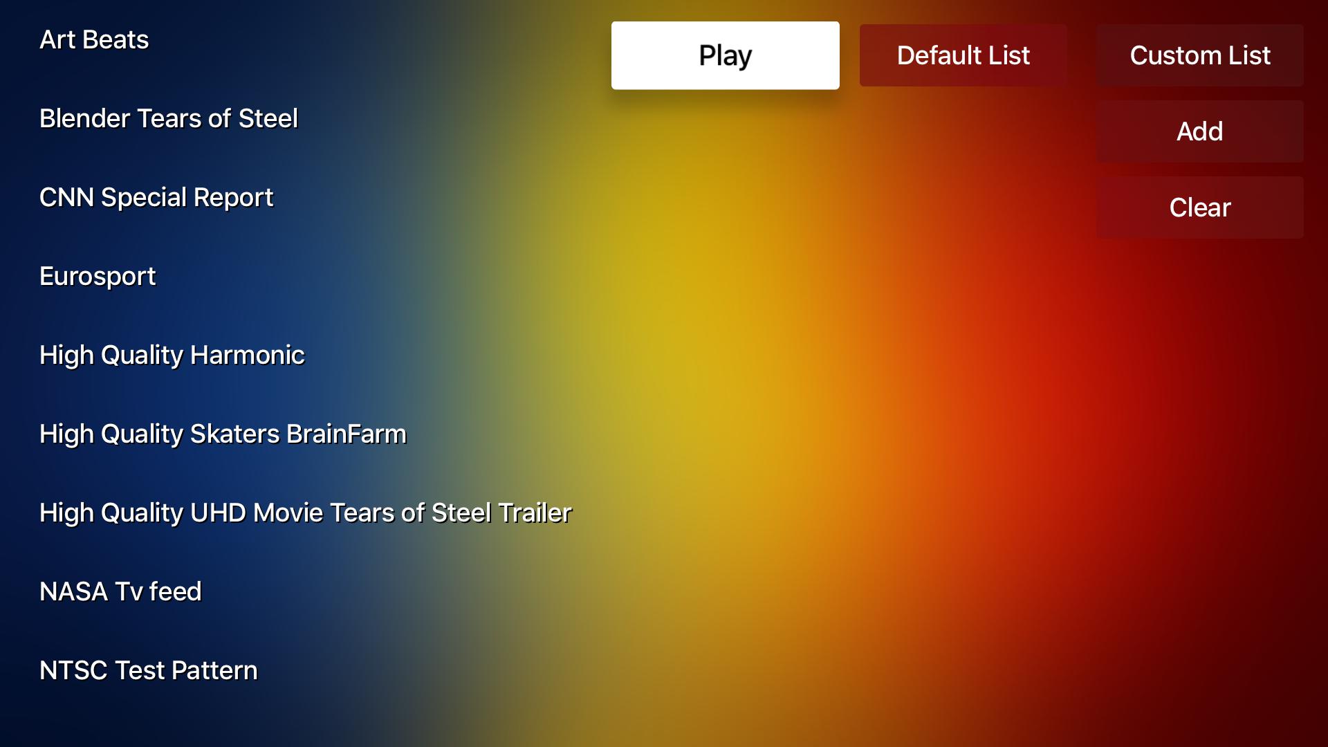 Video Stream Player screenshot 11