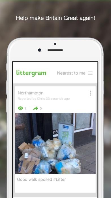 LitterGram screenshot one