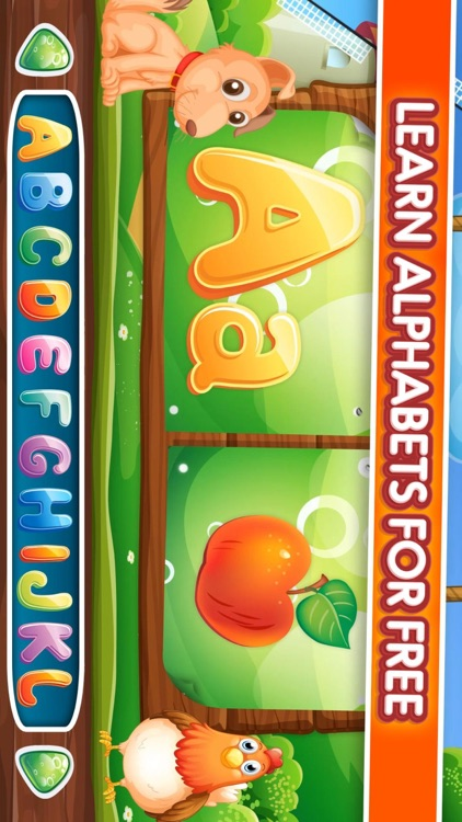 Learning the ABC for kids screenshot-4