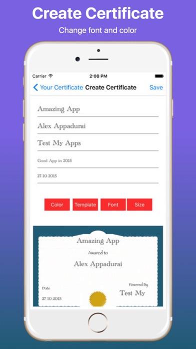 Create Your Own Certificate Proのおすすめ画像4
