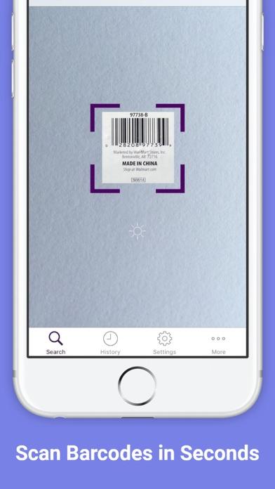 QR Code Reader Barcode Scanner screenshot two