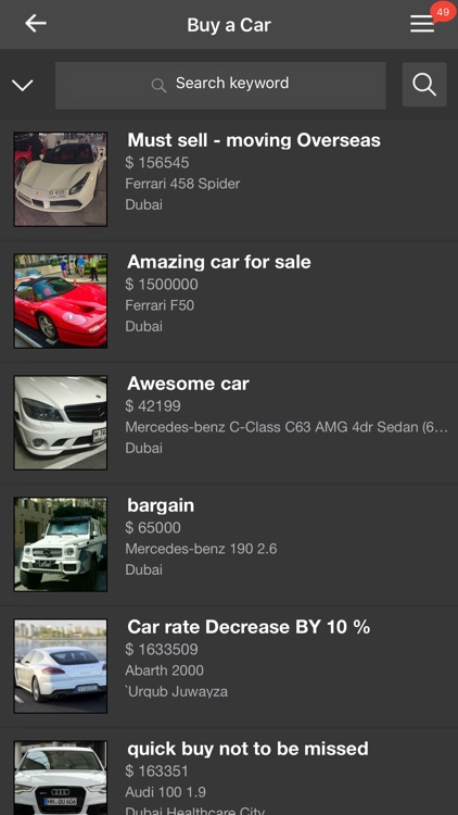 Dazzled Cars-Videos, Photos, Events, News,Buy/Sell screenshot-3