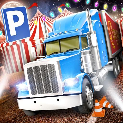 Circus Trucker Parking Sim АвтомобильГонки ИгрыБесплатно