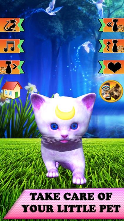My Virtual Pet: 3D kitten simulator