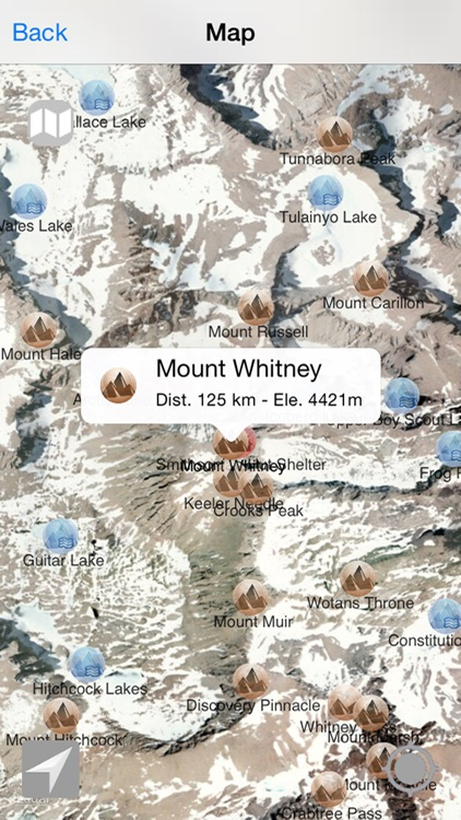US Mountains, peaks and hills in augmented reality screenshot-3