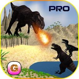 Flying Dinosaur Simulator - Velociraptor, pterodactyl, agrosaurs, spinosaurus & Triceratops PRO game