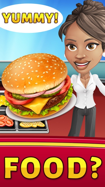 Food Court Hamburger Fever 2: Burger Cooking Chef screenshot-1