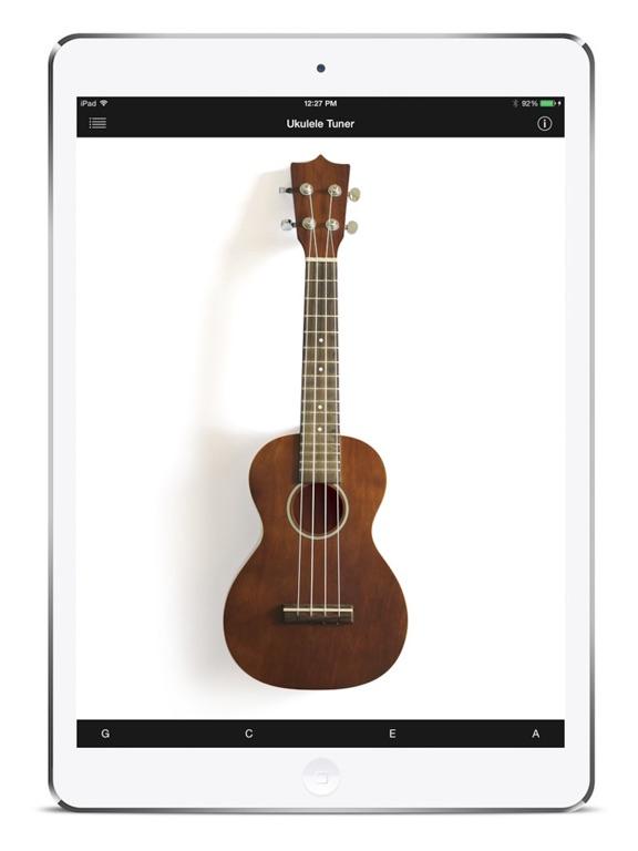 Ukulele Tuner iPad