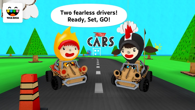 Toca Cars screenshot-4