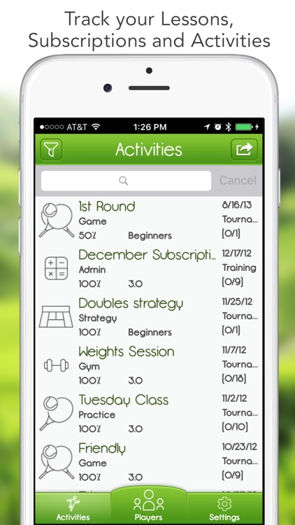 iGrade for Tennis Coach screenshot-1