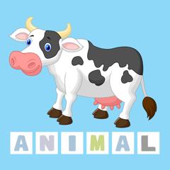 Fun Animal Spelling - Game to Learn English Vocabulary for Preschool & Kindergarten