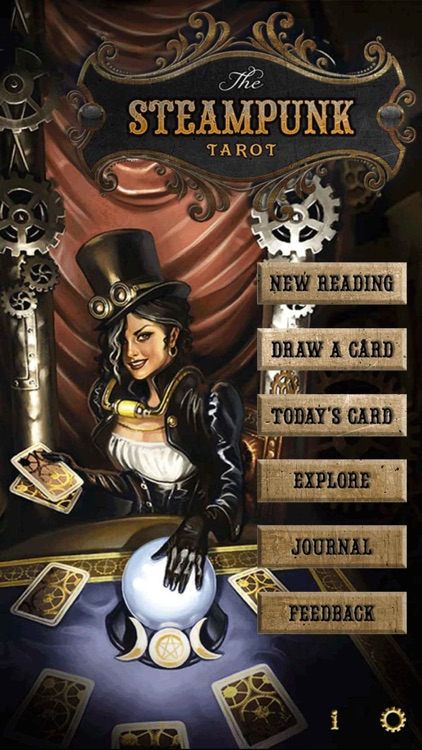 Steampunk Tarot screenshot-0