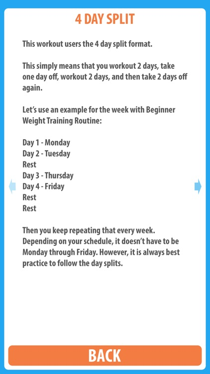 Beginner Weight Training Routine - Use this beginner weight training workout to gain muscle and gain strength screenshot-3