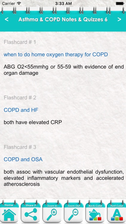 Asthma & COPD Exam Review: 5000 Flashcards, Definitions & Quizzes