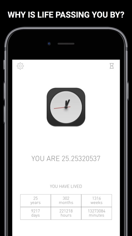 Quietly: The Life Timer
