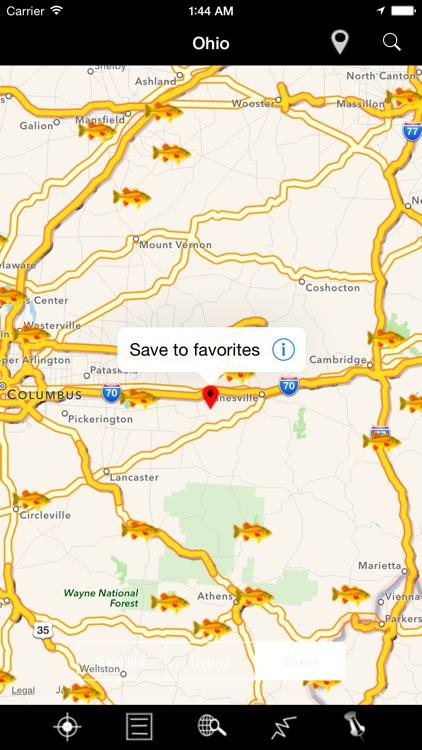 Ohio: Lakes & Fishes screenshot-4