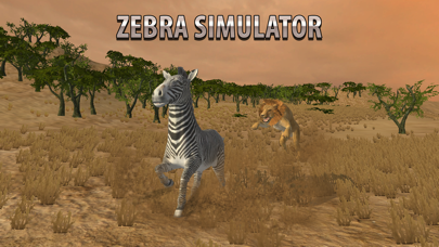 Zebra Simulator 3D - African Horse Survival screenshot three