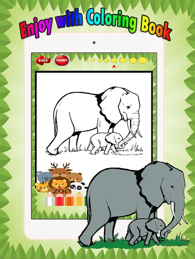 Berühmt Zoo Tiere Malbuch Ideen - Druckbare Malvorlagen - amaichi.info