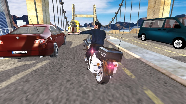 Extreme Traffic Police Bike - Ride Motorcycle & Chase Criminals in City screenshot-4