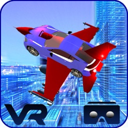 VR Flying Car Flight Simulator – The best game for google cardboard Virtual Reality