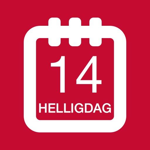 Danske helligdage - Holiday Kalender 2016 i Danmark til orlov og ferie planlægning