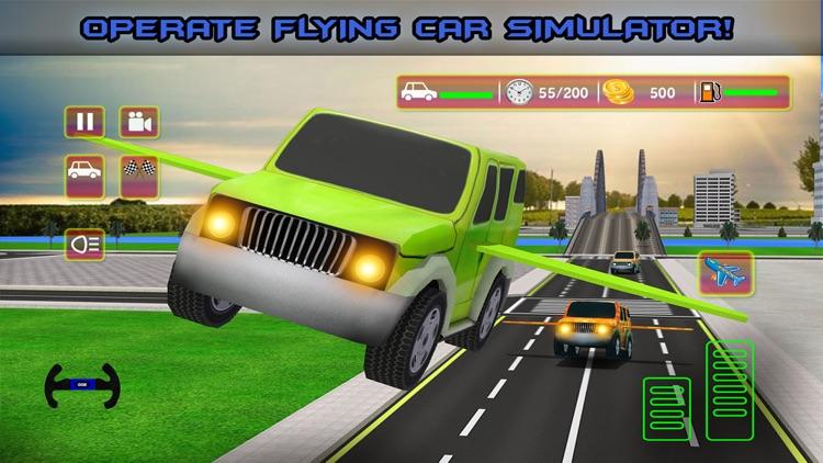 Futuristic Kids Flying Cars - Real Baby Jet Racing Simulator Pro