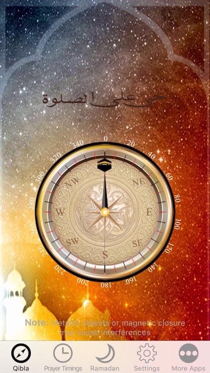 Muslim Prayer Times, Ramadan & Qibla Compass (Pro) screenshot-3