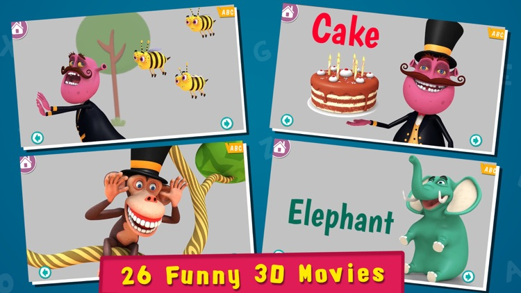 Magical Alphabet - Letters, Phonics, Spellings and ABC Videos for preschoolers and toddlers screenshot-1
