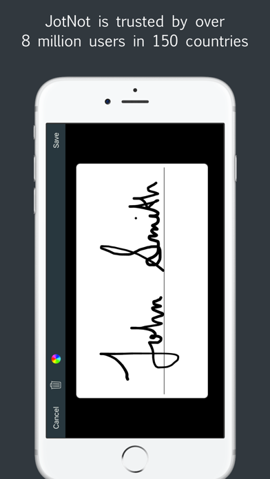Sign by JotNot - fill and sign PDF form or sign PDF document Screenshot