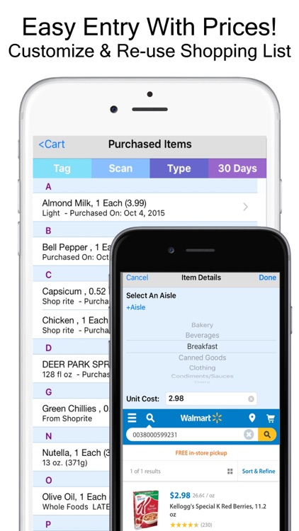 Expense Scout: Budget, Bill Reminders & Grocery Shopping List screenshot-4