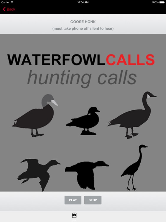 Waterfowl Hunting Calls - The Ultimate Waterfowl Hunting Calls App For Ducks, Geese & Sandhill Cranes & BLUETOOTH COMPATIBLE screenshot-3
