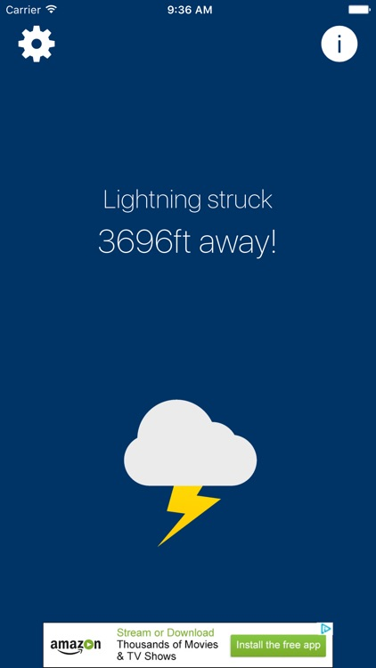 Zap Track - Lightning Distance Tracker
