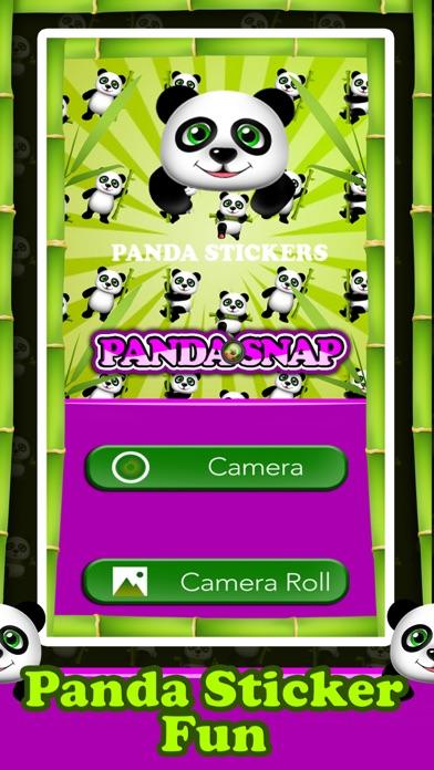 Panda Snap - Awesome Panda Stickers screenshot two