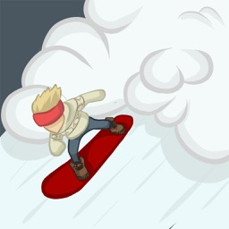Avalanching: snowboard slalom endless runner!