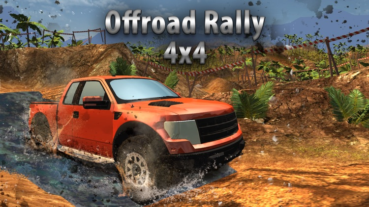 SUV 4x4 Rally Driving Full - Be a truck driver! screenshot-0