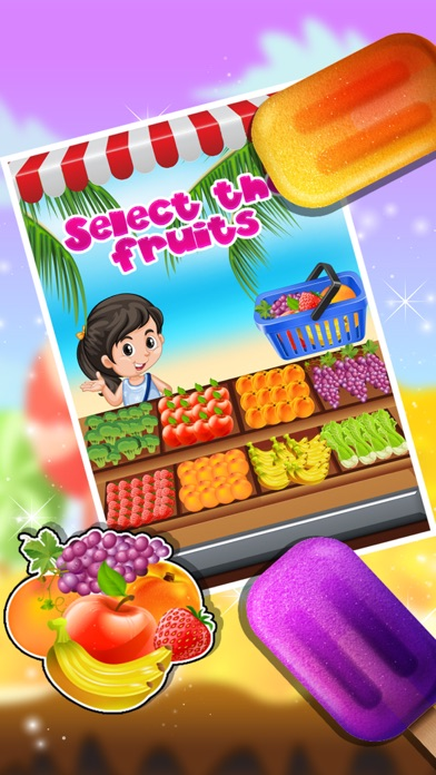 Ice Candy Maker – Make icy & fruity Popsicle in this cooking chef game screenshot four