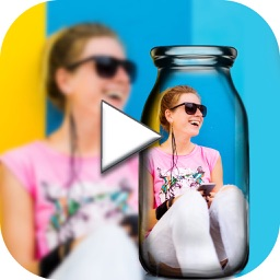 PIP Video Camera - selfie cam editor with video in video maker