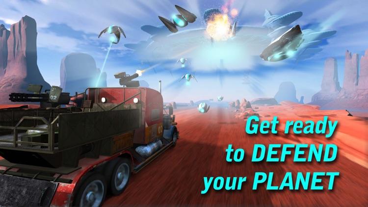Truck vs Aliens