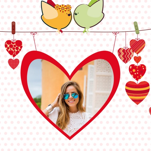 Amazing Love Photo Frames - Creative Frames for your photo iOS App