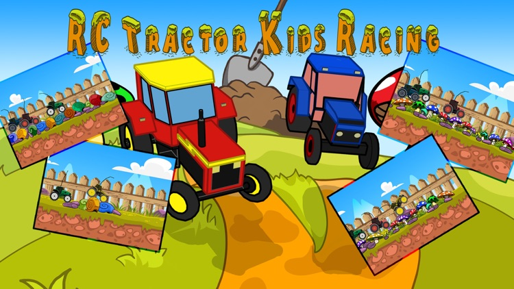 RC Tractor Kids Racing