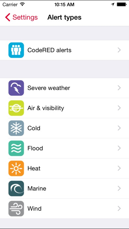 CodeRED Mobile Alert app image