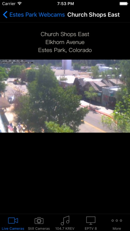 Estes Park Webcams for iPhone screenshot-3