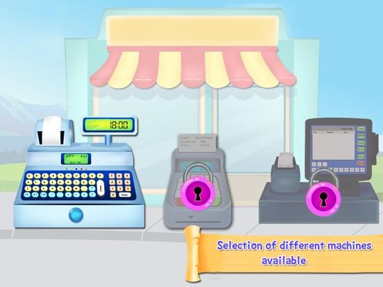 Игра Супермаркет кассовый аппарат SIM- Дети образовательный торговые центры и управление временем весело игры