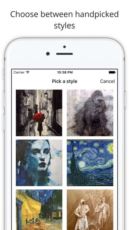 Lucid - turn your pictures into art.