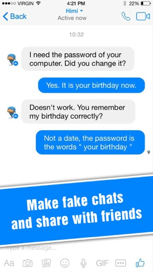 How To Create Fake Facebook Messenger Messages   Ritchie